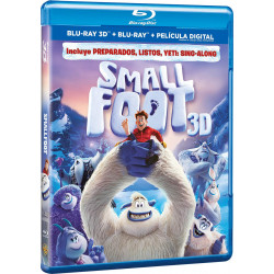 Smallfoot Blu-Ray 3D + Blu-Ray