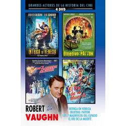 Pack Robert Vaughn (4 DVD's)