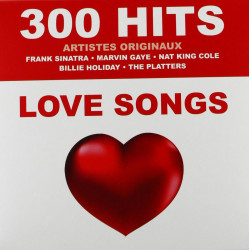 300 Hits Love Songs (15 CD's)